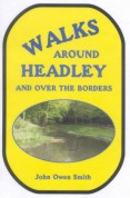 book cover, Walks around Headley