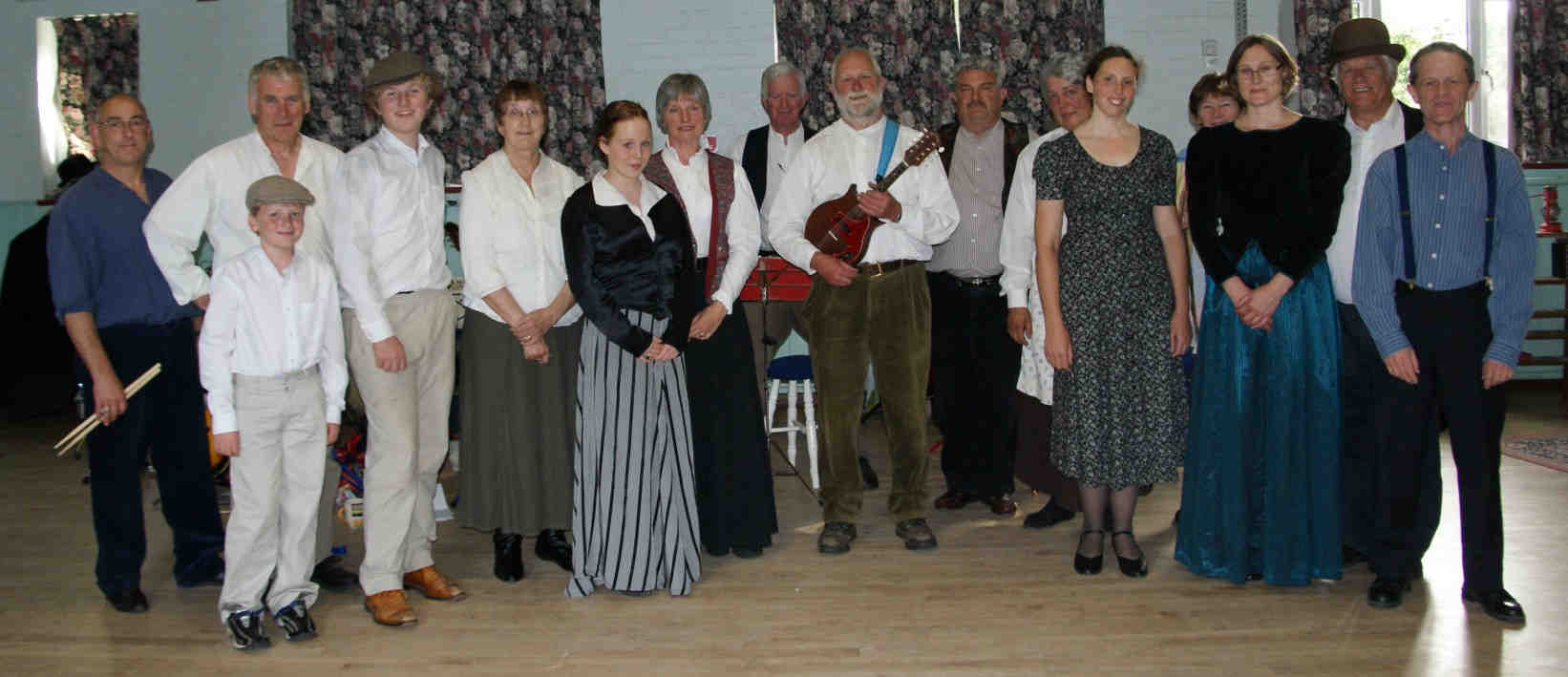 Cast of Candleford, June 2009